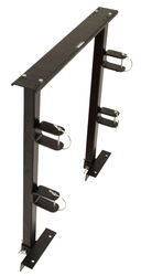 Reese Towpower TransRACK Dual Trimmer Rack for Open Utility Trailers or Truck Beds