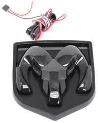 Ram LED Lighted Vehicle Emblem - Black