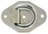 "Brophy D-Ring Tie Down Anchor - Bolt-On - 3-9/16"" Wide - Recessed Mount - 400 lbs"