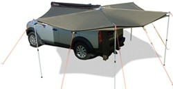 Foxwing Awning for Rhino-Rack, Thule Square, Yakima Round and Inno Crossbars - Driver's Side