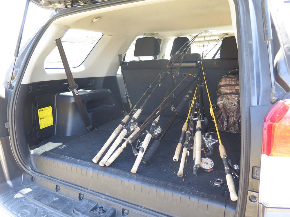 Rhino Rack Fishing Rod Carrier Locking 11 Fishing Rods