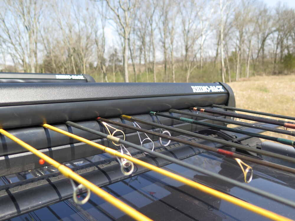 Rhino rack fishing rod carrier locking 11 fishing rods for Rhino fishing pole