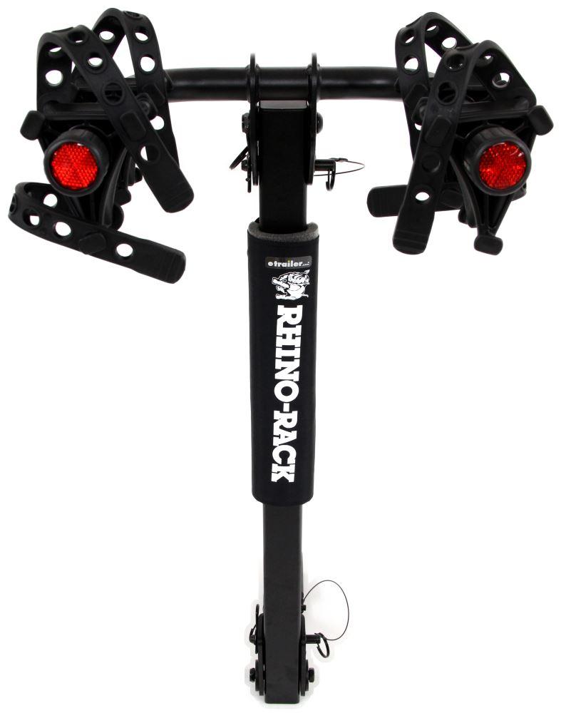 """Rhino-Rack 2 Bike Rack - 1-1/4"""" and 2"""" Hitches - Tilting Rhino Rack Hitch Bike Racks RRRBC045"""
