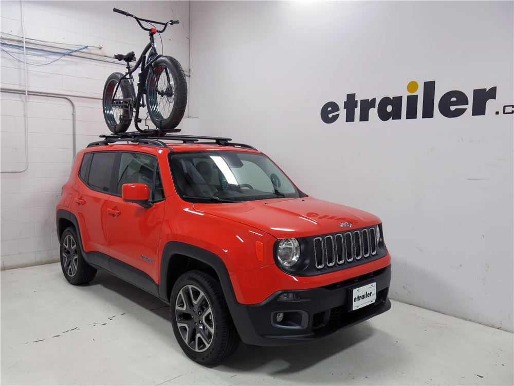 Bike Rack For Jeep Renegade >> Rhino-Rack Hybrid Roof Bike Rack for Fat Bikes - Wheel Mount - Clamp On - Aluminum Rhino Rack ...