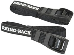 "Rhino-Rack Cam Buckle Cinch Straps - 15/16"" x 11-1/2' - 165 lbs - Qty 2"