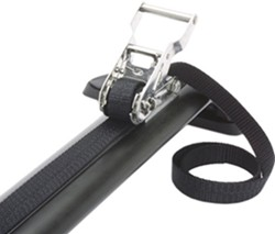 "Ratchet Grab Tie-Down Strap for Rhino-Rack Aero/Sportz Crossbars - 78"" Long - Qty 1"