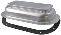 "Replacement Exterior Pop-Up Roof Vent - Aluminum - 13-1/2"" x 8"""