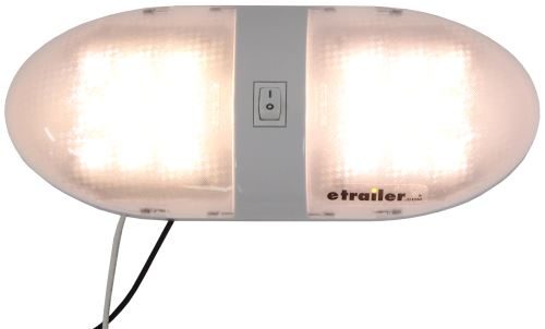Compare Optronics LED RV vs RV Interior Light | etrailer.com:Optronics LED RV Interior Light with Switch - 18 Diode - Surface Mount -  White Housing,Lighting