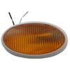 RV Oval Porch and Utility Light - Amber