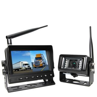 """rear view safety wireless backup camera system 5"""" dual"""