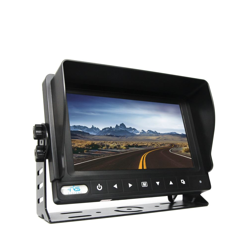 Rear View Safety Backup Monitor 7 Quot Color Screen