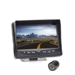 Rear View Safety Backup Camera System with Flush Mount Camera