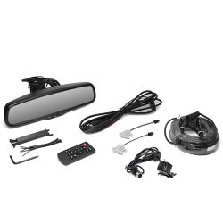 Rear View Safety G-Series Backup Camera System - Compass - Temperature