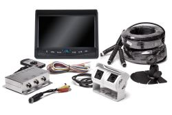 Rear View Safety Backup Camera System with Dual Lens Camera