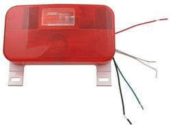 Camping Travel Trailer Stop, Turn, Tail and Back Up Lightwith License Plate Light and Bracket