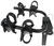 swagman hitch bike racks hanging rack fits 1-1/4 inch 2 and trailhead for hitches - tilting