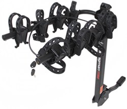 "Swagman Titan 4 Bike Rack for 1-1/4"" and 2"" Hitches - Tilting"
