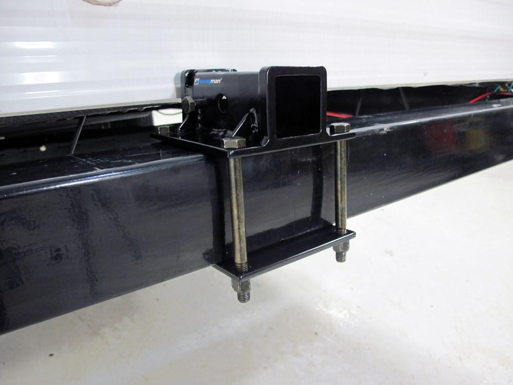 "RV Bumper 2"" Trailer Hitch Receiver - Clamp-On Swagman RV ..."