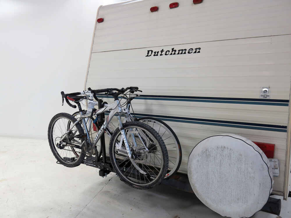 """Swagman Bike Rack >> Swagman Platform-Style 2 Bike Rack for 2"""" Hitches or RV Bumpers Swagman RV and Motorhome Bike ..."""