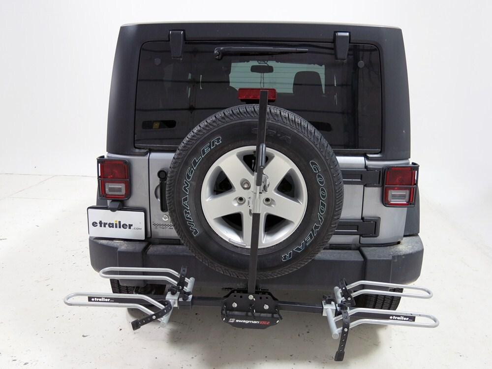 1990 jeep wrangler swagman xtc 2 2 bike platform rack for. Black Bedroom Furniture Sets. Home Design Ideas