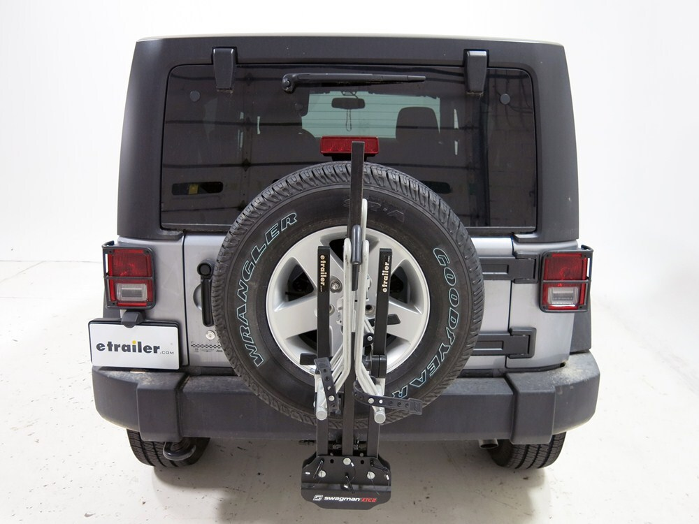 2010 jeep wrangler swagman xtc 2 2 bike platform rack for. Black Bedroom Furniture Sets. Home Design Ideas