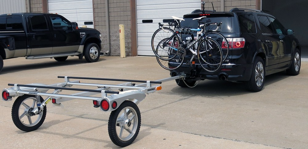 2007 saturn outlook swagman xp 4 bike towing rack for 2. Black Bedroom Furniture Sets. Home Design Ideas