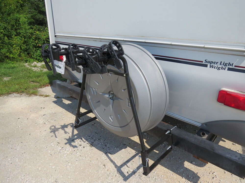Swagman Around The Spare Deluxe 2 Bike Rack For Rv Bumpers