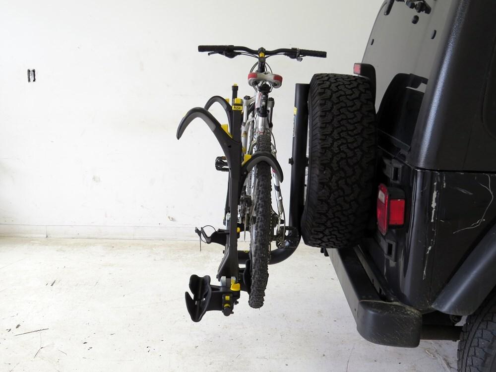 2006 Jeep Liberty Spare Tire Bike Racks Saris