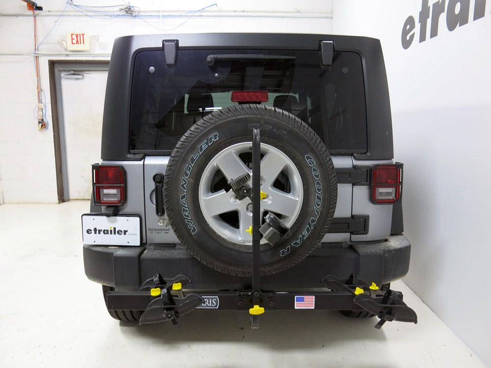 2005 Jeep Wrangler Saris Freedom 2 Bike Platform Rack 1