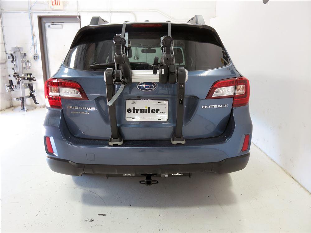 2014 Subaru Outback Wagon Trunk Bike Racks - Saris