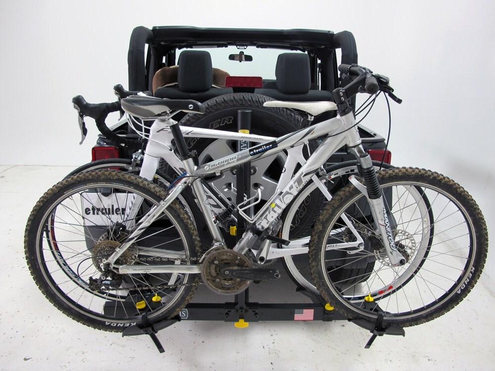 Jeep Wrangler Saris Freedom 2 Bike Rack Platform Style
