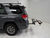 2012 toyota 4runner hitch bike racks kuat platform rack carbon fiber bikes sherpa 2.0 2-bike - 2 inch hitches tilting aluminum gray