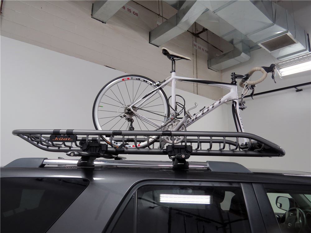 Kuat Skinny Roof Cargo Basket And Bike Rack Steel 82