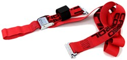 "Snap-Loc E-Track Tie-Down Strap w/ Cam Buckle and Soft Tie-Loop - 2"" x 8' - 1,000 lbs"