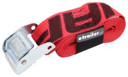 "Snap-Loc Cam Buckle Cinch Strap w/ Strap Wrapper - 2"" x 8' - 1,000 lbs"