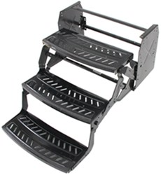 "RV Manual Pull-Out Step - Triple - 9"" Drop/Rise - Wide Body"