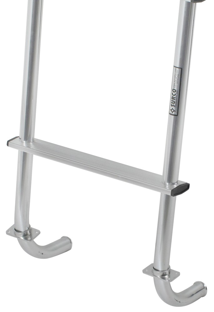 Universal Jacks On Ladders : Surco universal exterior rv ladder quot long