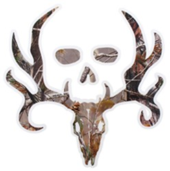 Bone Collector Logo Flat Decal - Camouflage - Qty 1
