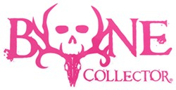 Bone Collector Logo Flat Decal - Pink - Qty 1