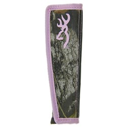 Browning Seat Belt Cushion - New Break-Up Camo - Pink - Qty 1