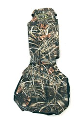 Ducks Unlimited Universal Fit Bucket Seat Cover - Neoprene - Realtree Max-4 Camo and Black - Qty 1