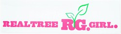 Realtree Girl Logo Flat Decal - Pink