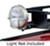 surco products accessories and parts  light mounting bracket for safari rooftop cargo baskets