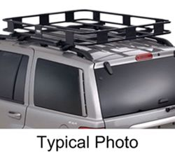 "Surco Safari Rack 5.0 Rooftop Cargo Basket for Thule Roof Racks - 50"" Long x 45"" Wide"