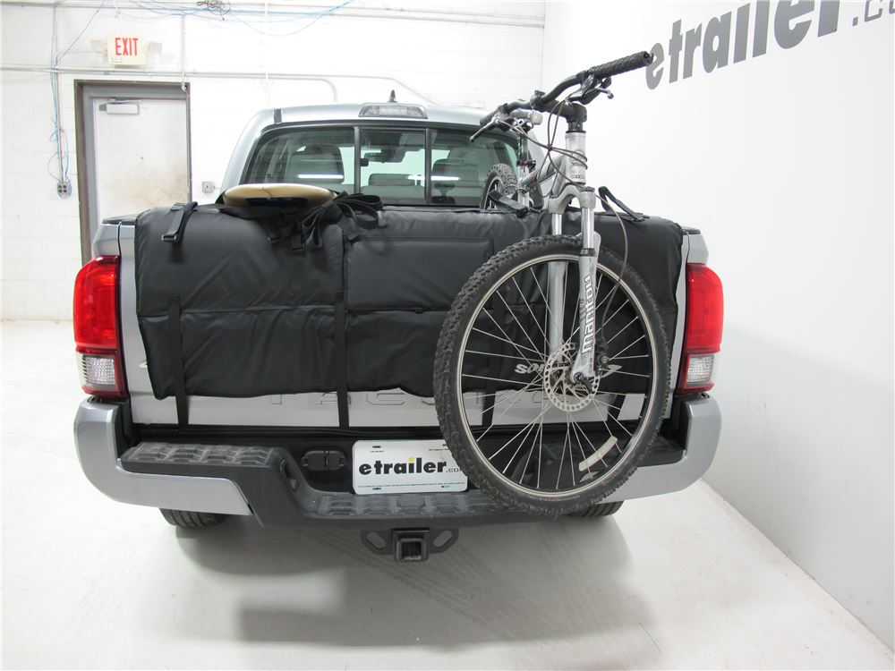 2009 Toyota Tacoma Softride Tailgate Pad Bicycle Transporter for Mid-Size Pickup Trucks