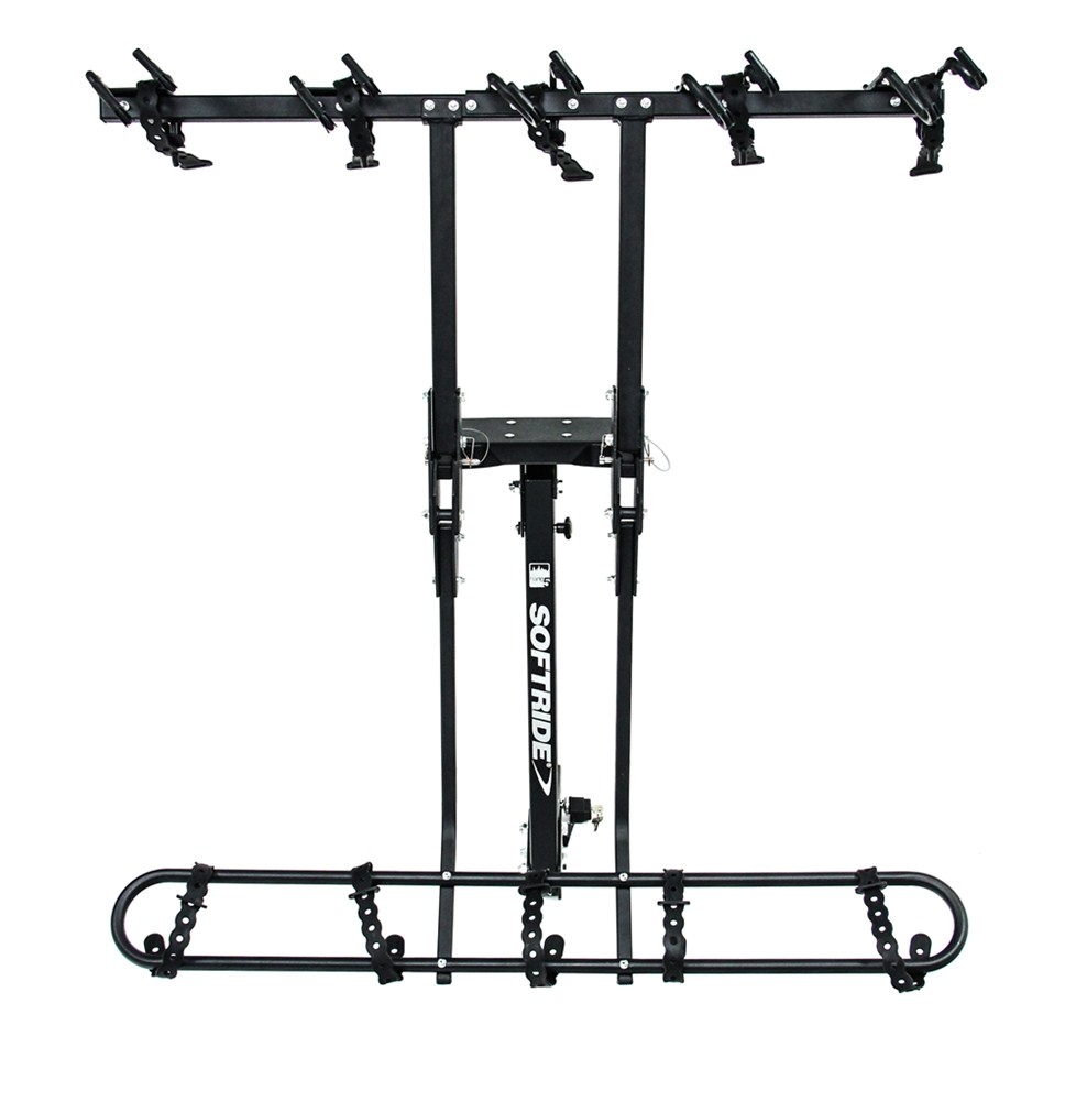 """Softride Hang5 5-Bike Rack for 2"""" Hitches - Tilting ..."""