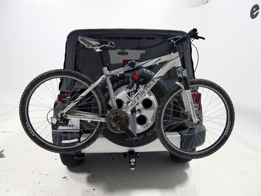 2016 jeep wrangler sportrack 3 bike rack spare tire. Black Bedroom Furniture Sets. Home Design Ideas