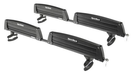 SportRack Ski And Snowboard Carrier   Adjustable   Roof Mount   Locking   8  Skis Or 4 Snowboards SportRack Ski And Snowboard Racks SR6453