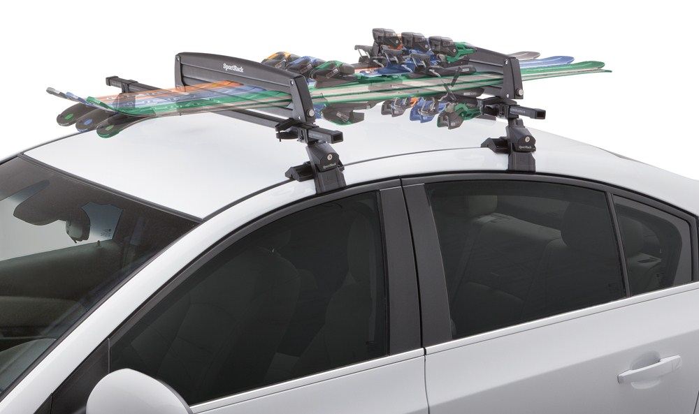 Sportrack Ski And Snowboard Carrier Roof Mount Locking