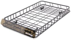 "SportRack Vista Roof Mounted Cargo Basket - Steel - 66"" Long x 39-1/8"" Wide - 100 lbs"